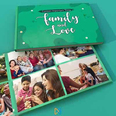 album foto keluarga
